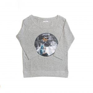 camiseta streetwear sostenible